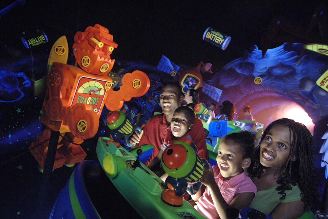 Buzz Lightyear's Space Ranger Spin® Attraction