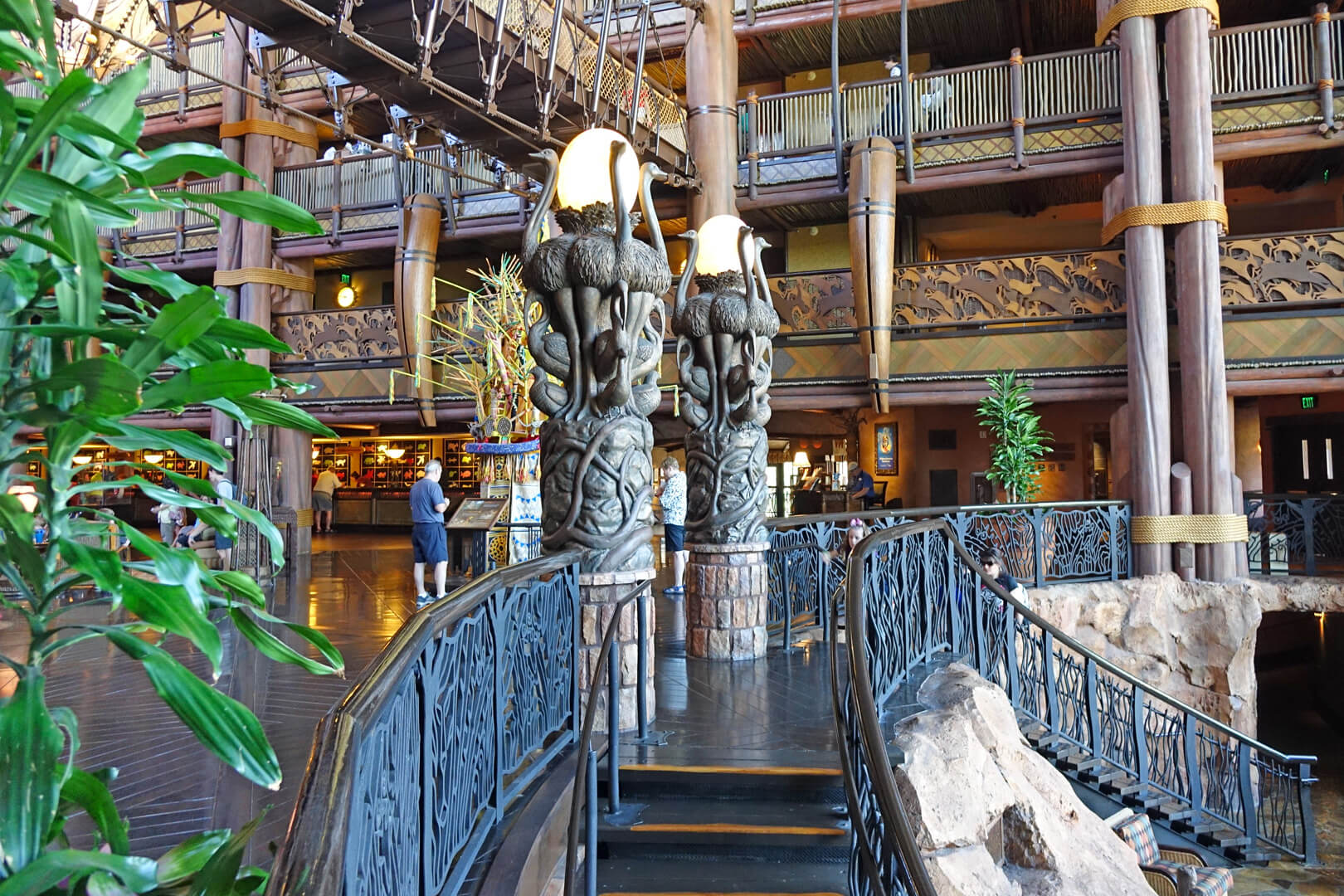 Disney S Animal Kingdom Lodge Jambo House Walt Disney