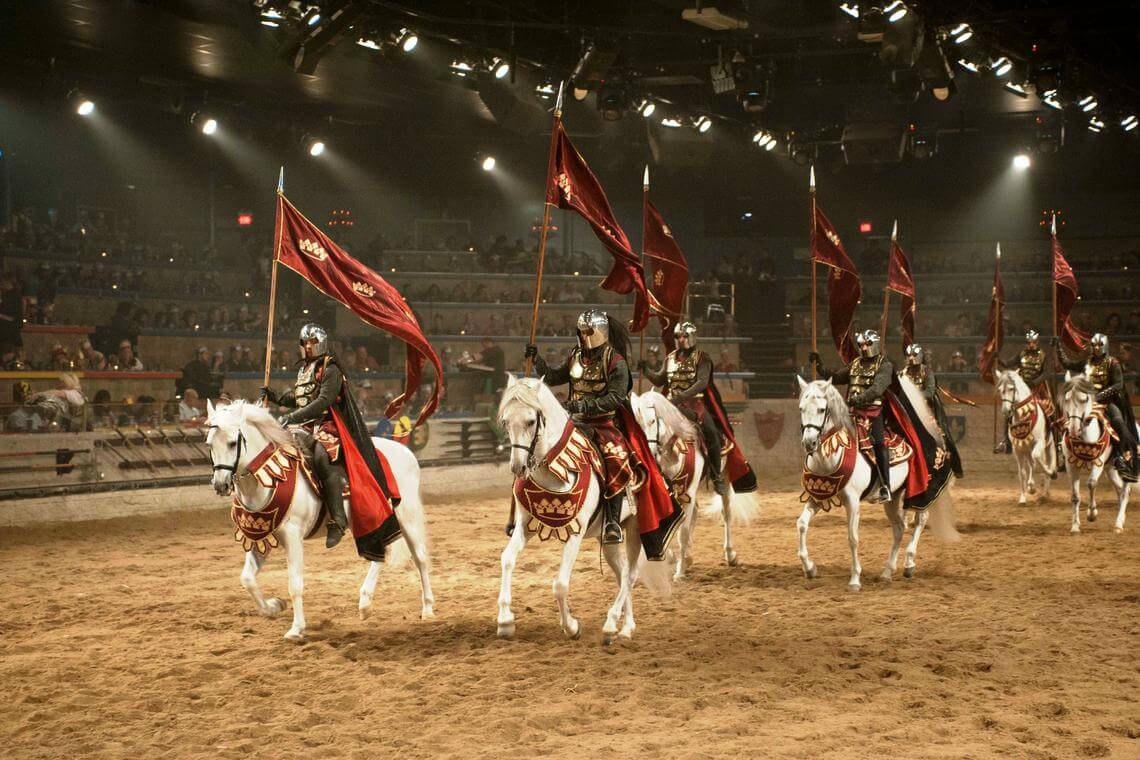 Experience Medieval Times dinner and show - chivalry, rivalry & revelry! Knights, horses, falconry, jousting, the color & action of medieval Spain. Official site.